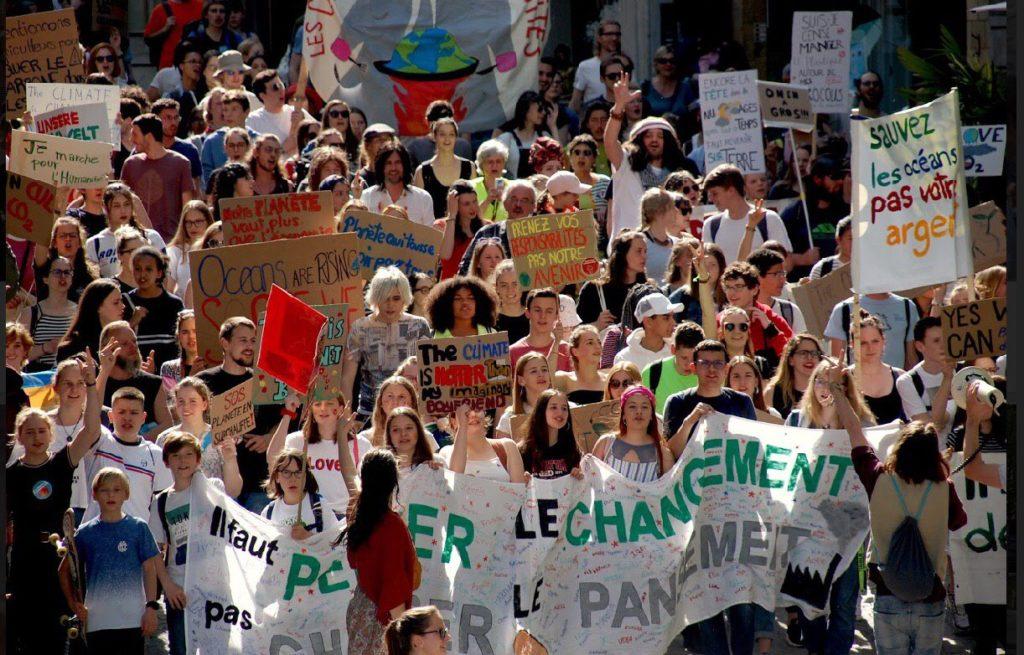 La Grève du Climat Fribourg en grève le 27 septembre